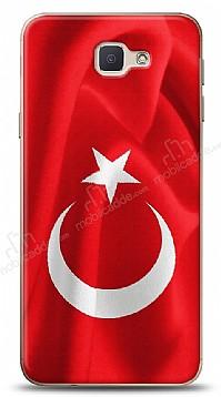 Samsung Galaxy J7 Prime Türk Bayrağı Kılıf