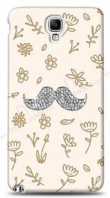 Samsung Galaxy Note 3 Neo Bling Mustache Taşlı Kılıf