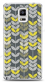 Samsung Galaxy Note 4 Yaprak Desenli Kılıf