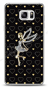Samsung Galaxy Note 5 Lovely Girl Taşlı Kılıf
