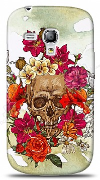 Samsung Galaxy S3 mini Roses Skull 4 Kılıf