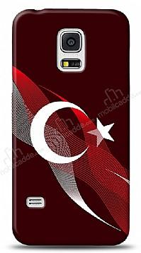 Samsung Galaxy S5 mini Bayrak Çizgiler Kılıf