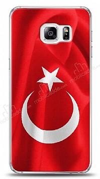 Samsung Galaxy S6 Edge Plus Türk Bayrağı Kılıf