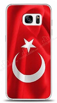 Samsung Galaxy S7 Edge Türk Bayrağı Kılıf
