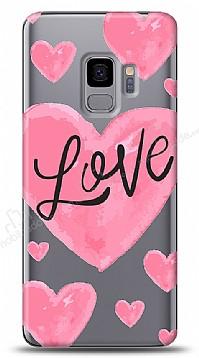 Samsung Galaxy S9 Love Hearth Kılıf