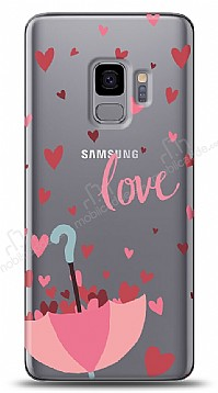 Samsung Galaxy S9 Love Umbrella Kılıf
