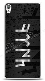 Sony Xperia E5 Göktürkçe Türk Yazısı Kılıf