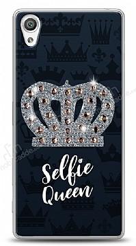 Sony Xperia X Selfie Queen Taşlı Kılıf