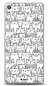 Sony Xperia XA Ultra Cats Kılıf