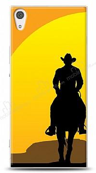 Sony Xperia XA1 Ultra Kovboy Çift Erkek Kılıf