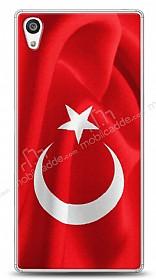 Sony Xperia Z5 Türk Bayrağı Kılıf