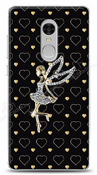 Xiaomi Redmi Note 4 / Redmi Note 4X Lovely Girl Taşlı Kılıf
