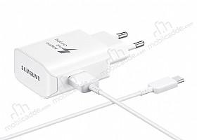 Samsung EP-TA300CWEGWW Orjinal USB Type-C Beyaz Ev Şarj Aleti
