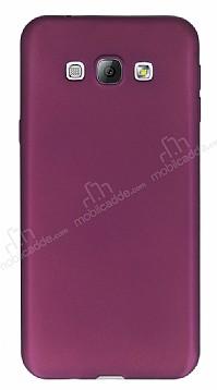 Samsung Galaxy A8 Mat Mor Silikon Kılıf