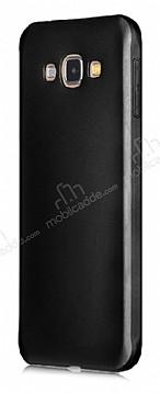 Samsung Galaxy A8 Mat Siyah Silikon Kılıf
