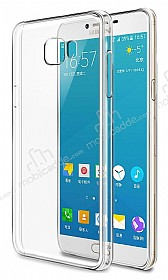 Samsung Galaxy C7 Pro Şeffaf Kristal Kılıf