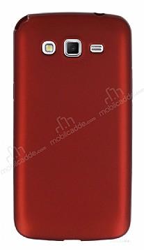 Samsung Galaxy Grand 2 Mat Kırmızı Silikon Kılıf