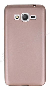 Samsung Galaxy Grand Prime / Prime Plus Mat Rose Gold Silikon Kılıf