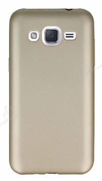 Samsung Galaxy J2 Mat Gold Silikon Kılıf
