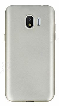 Samsung Grand Prime Pro J250F Mat Gold Silikon Kılıf