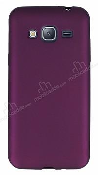 Samsung Galaxy J3 2016 Mat Mor Silikon Kılıf