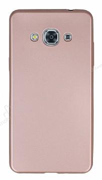 Samsung Galaxy J3 Pro Mat Rose Gold Silikon Kılıf