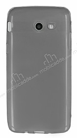 Samsung Galaxy J5 2017 Ultra İnce Şeffaf Siyah Silikon Kılıf