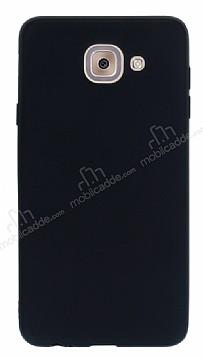 Samsung Galaxy J7 Max Mat Siyah Silikon Kılıf