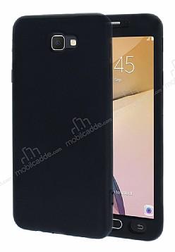 Samsung Galaxy J7 Prime 360 Derece Koruma Likit Siyah Silikon Kılıf