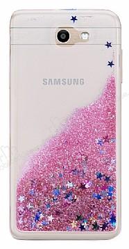 Samsung Galaxy J7 Prime Sulu Pembe Rubber Kılıf