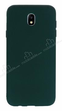 Samsung Galaxy J7 Pro 2017 Mat Yeşil Silikon Kılıf