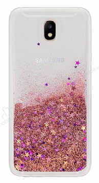 Samsung Galaxy J7 Pro 2017 Sulu Rose Gold Rubber Kılıf