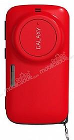 Samsung Galaxy K zoom Orjinal Auto Pop Ultra Koruma Kırmızı Kılıf