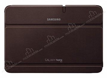 Samsung Galaxy Note 10.1 Orjinal Book Cover Kahverengi Kılıf
