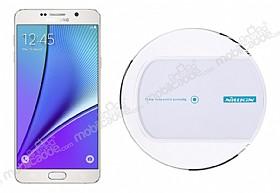 Nillkin Magic Disk II Samsung Galaxy Note 5 Beyaz Kablosuz Şarj Cihazı