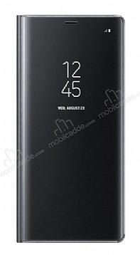 Samsung Galaxy Note 8 Orjinal Clear View Uyku Modlu Siyah Kılıf