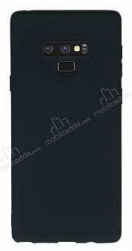 Samsung Galaxy Note 9 Mat Siyah Silikon Kılıf