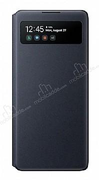 Samsung Galaxy S10 Lite Orjinal Pencereli S View Cover Siyah Kılıf