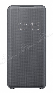 Samsung Galaxy S20 Orjinal Led View Cover Gri Kılıf