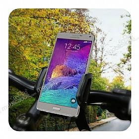Samsung Galaxy S6 Edge Plus Baseus Wind Series 360 Derece Döner Standlı Bisiklet Telefon Tutucu