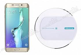 Nillkin Magic Disk II Samsung Galaxy S6 Edge Plus Beyaz Kablosuz Şarj Cihazı