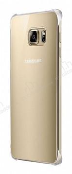 Samsung Galaxy S6 Edge Plus Orjinal Glossy Cover Gold Aynalı Kılıf