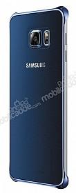 Samsung Galaxy S6 Edge Plus Orjinal Metalik Dark Blue Kenarlı Kristal Kılıf