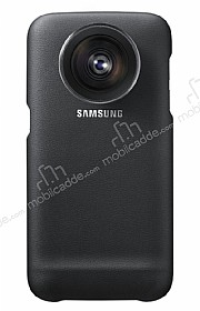 Samsung Galaxy S7 Edge Orjnal Siyah Lens Kılıf