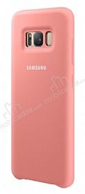 Samsung Galaxy S8 Orjinal Pembe Silikon Kılıf