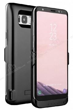 Samsung Galaxy S8 Plus 6500 mAh Siyah Bataryalı Kılıf