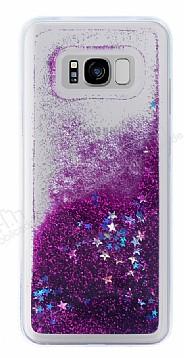 Samsung Galaxy S8 Plus Sulu Mor Rubber Kılıf