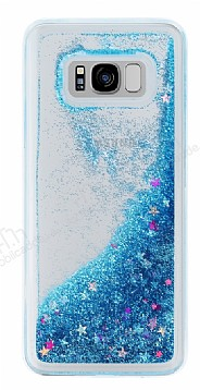 Samsung Galaxy S8 Plus Sulu Mavi Rubber Kılıf