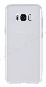 Samsung Galaxy S8 Ultra İnce Şeffaf Silikon Kılıf