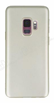 Samsung Galaxy S9 Mat Gold Silikon Kılıf